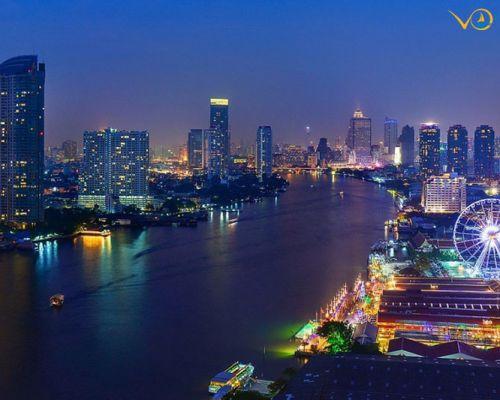 Tour HN - Thái Lan 5N4Đ: Khách sạn 4*, Buffet 86 tầng, Massage Thái