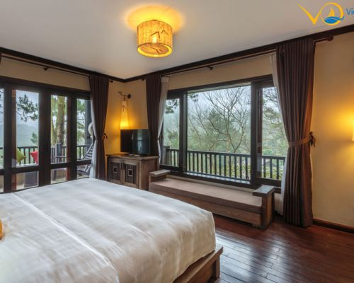 Tận hưởng không gian nghỉ dưỡng Châu Âu tại Hà Nội với mức giá 1.250k/người đêm