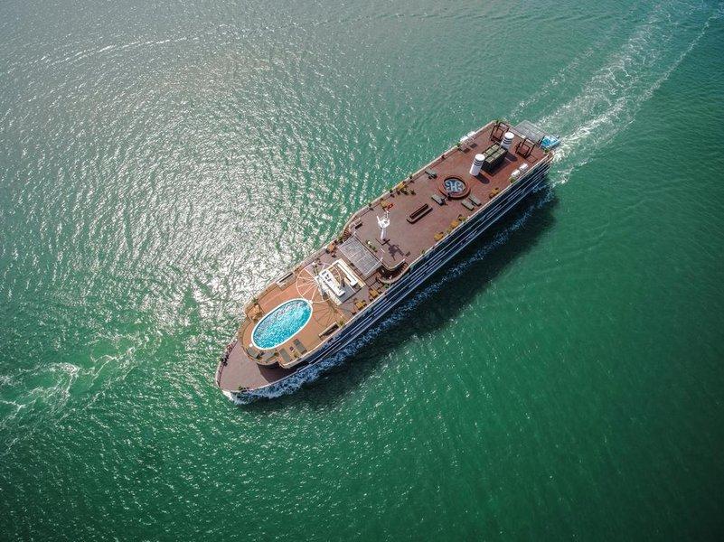 Heritage - Du thuyền nghỉ dưỡng hạng sang trên vịnh Lan Hạ