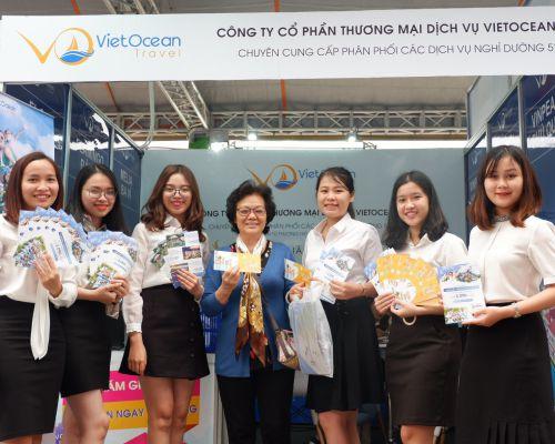 Vietocean Travel - Đồng hành Lễ hội du lịch bán lẻ đầu tiên tại Việt Nam Travel Fest 2019