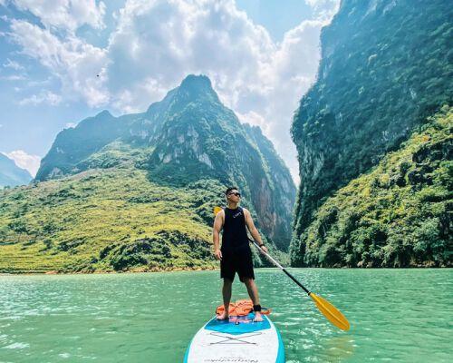 Những địa điểm chèo thuyển Kayak đẹp nhất Việt Nam