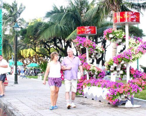Náo nức Hội hoa xuân Nha Trang - Dịp Tết 2021