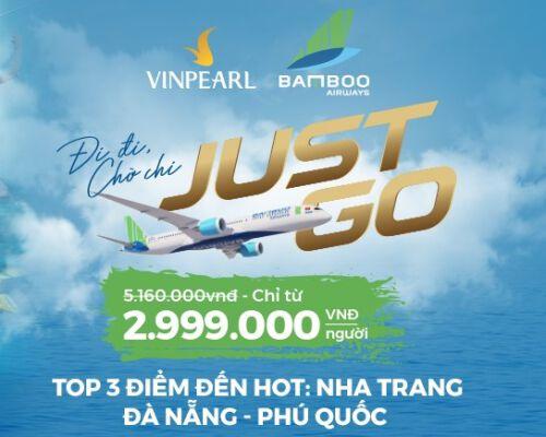 Vinpearlhợp tác bán voucher combo Vinpearl và Bamboo 2020