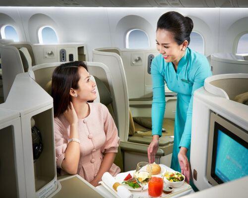 Tại sao nên book vé máy bay hạng thương gia trải nghiệm một lần trong đời!!