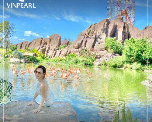 Chủ Nhật thảnh thơi tại Vườn Quý Vương - Vinpearl Land Nha Trang