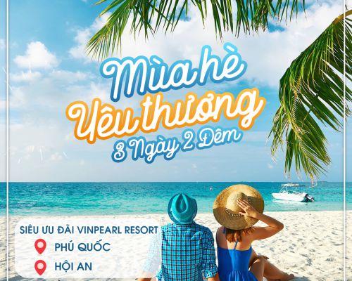 Tới Huế, Nha Trang, Phú Quốc cùng ưu đãi siêu lớn từ Vinpearl Resort với combo nghỉ dưỡng 3 ngày 2 đêm
